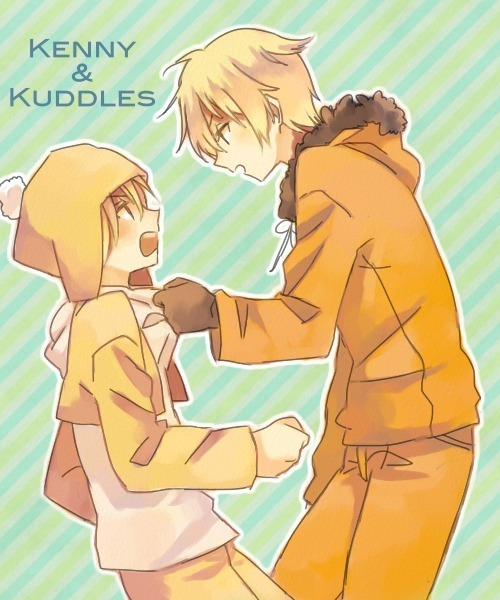 hikaririn19:  Two blonde, Kenny & Cuddles 💕