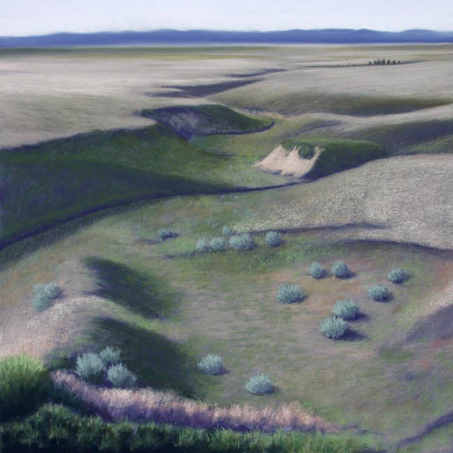 Jeffrey Cannon  |  Ancient Paths  pastel on paper, 2012