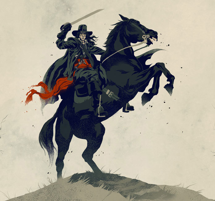 xombiedirge:  Solomon Kane by Phantom City Creative / Tumblr