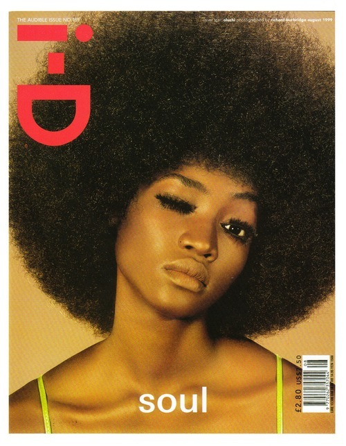 robertweirbeauty:  One of my favorite i-d magazine covers ever by the amazing Ricard Burbridge