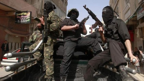 "Gaza City: Palestinian schoolboys are learning how to fire Kalashnikovs, throw grenades and plant improvised explosive devices as part of a program run by Hamas's education ministry. The scheme has been criticised by Palestinian human rights groups, who point out that Hamas has previously banned sport from the school curriculum on the grounds that there is not enough time for it. Hamas authorities introduced the ""Futuwwa"", or youth program into the state curriculum last September for 37,000 Palestinian boys aged between 15 and 17, conceiving it as a scheme intended to initiate a new generation of Palestinian men in the struggle against Israel. (via Kalashnikov Classes for Palestinian Students)"