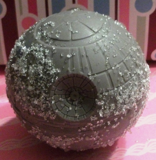 I'd eat this giant chocolate Death Star in one bite! Get it on Etsy.