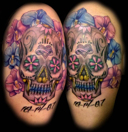 Sugar Skull by Ronnie Gonzalez