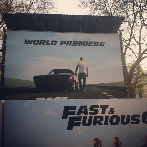 Here we are! #fast6premiere