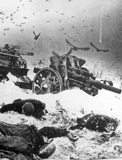 post-historic:  German soldiers killed in the Battle of Moscow, December 1941.