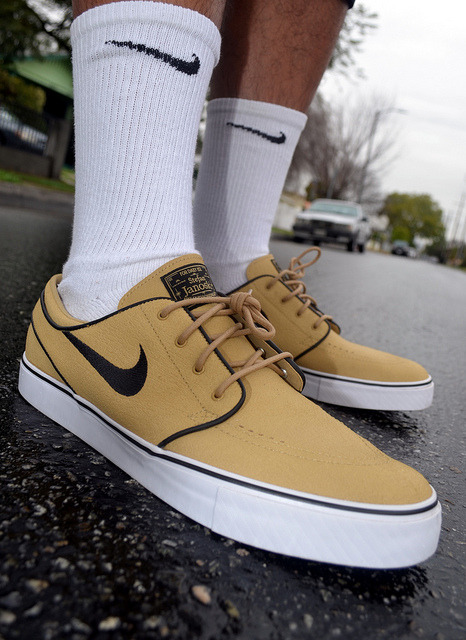 Nike SB Wheat Janoskis on Flickr.WDYWT Nike SB Wheat Janoskis