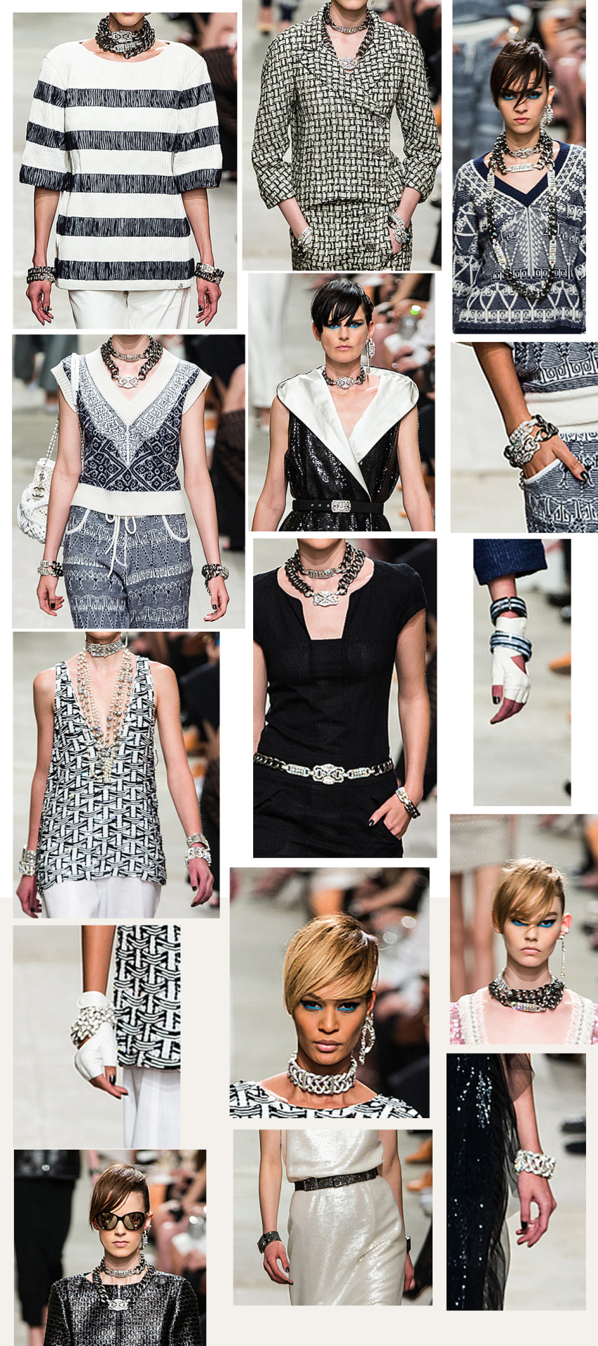 Chanel Cruise 2013 -14 in all its fine gem splendor #Chokerpalooza #LinkedInLuxury