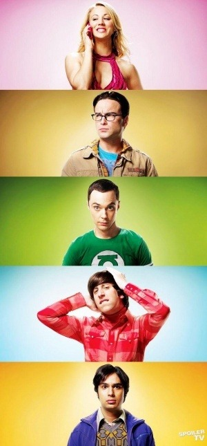 stupidcolourfulrainbows:  The Big Bang Theory on We Heart It. http://weheartit.com/entry/48609413/via/serayoztek