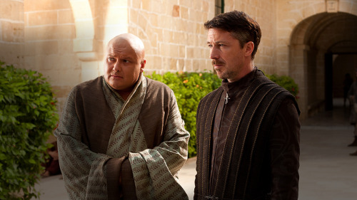 thevalarmorghulis:  Varys and Littlefinger