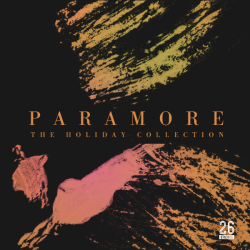 "26studios:  Artwork for Paramore's 'The Holiday Collection' 7"" vinyl."