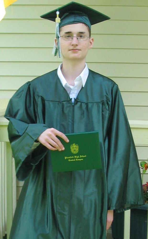 Here, Tumblr. Have a picture of me in my Cap and Gown from High School graduation (2008-5-31).