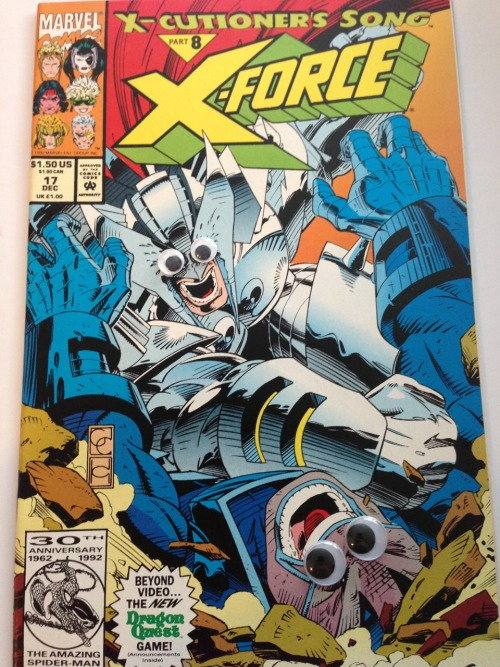 "xmenwithgooglyeyes:  X-Cutioner's Song part 8 - Apocalypse vs Stryfe for ""most confusing backstory for a villain"" award."