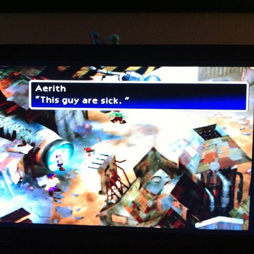 That's FF7 for ya.