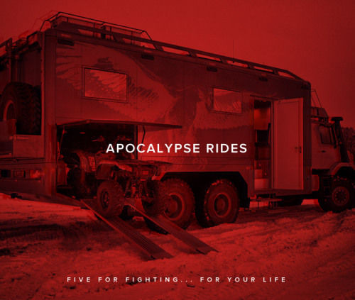 Five Vehicles for the End of the World. Zombies feel like squishy speed bumps under the wheels of the right survival vehicle.