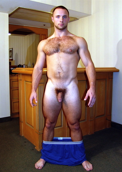 Hairy ginger hottie.