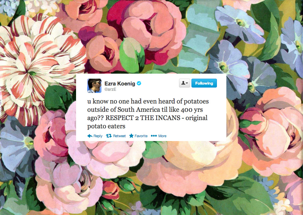charming-gardener:  my new fav photoshop genre is vintage ezra tweets