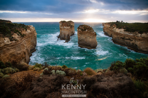 Loch Ard Gorge, Port Campbell National Park, Victoria, Australia. It's named after the ship 'Loch Ard' which ran aground nearby.
