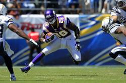 kickoffcoverage:  - DID YOU KNOW? -Vikings RB Adrian Peterson became the first NFL rookie to have two 200-yard rushing games (2007).