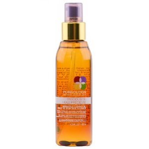 So I've spent the past month with Pureology's Precious Oil, Versatile Caring Oil. It's seriously the lightest serum in the world. I could barely hold it in my hands without it dripping. It had the consistency of water but the application feel of oil. I had to completely coat my hair in it to see any real frizz-fight. When I was applying the product I was doubtful it would work, but in conjunction with all of my other products I've been frizz free all month long. It's interesting because you don't see any real effect when you first apply the product. Throughout the day though regardless of weather my hair stayed smooth (or as smooth as girls can get anyways).