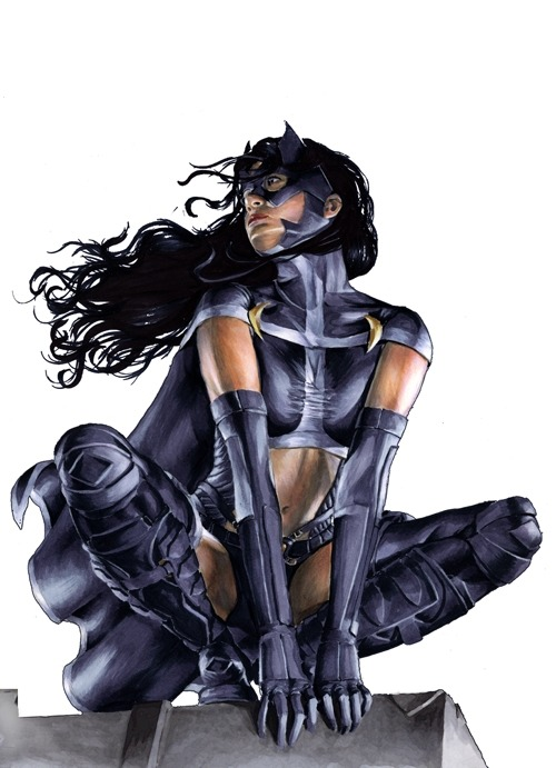 comicheroines:  Huntress