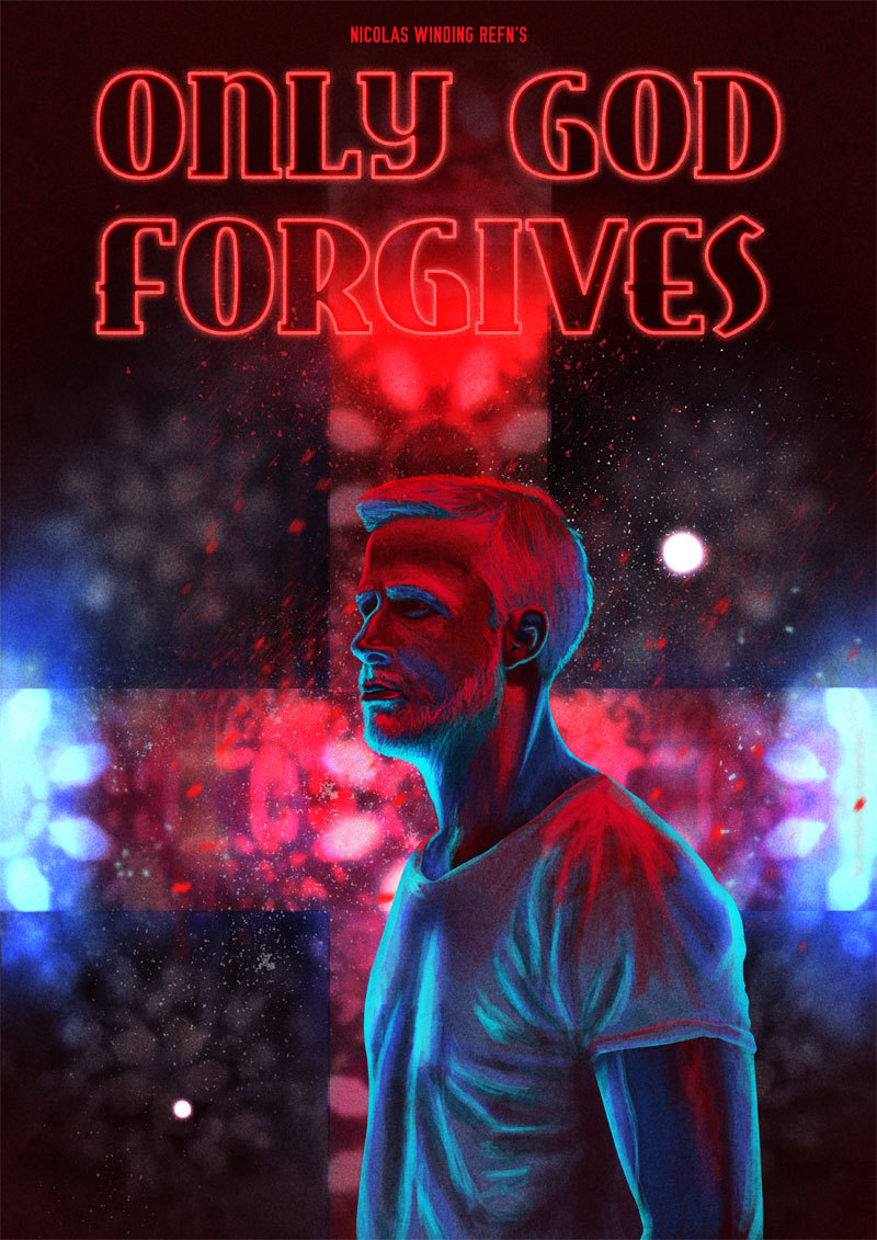 fuckyeahmovieposters:  Only God Forgives by YK-MN