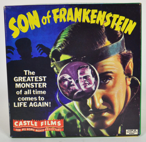 Son Of Frankenstein(1939) 8mm film