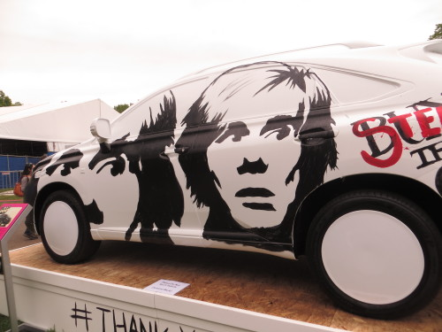The Warhol concept car…