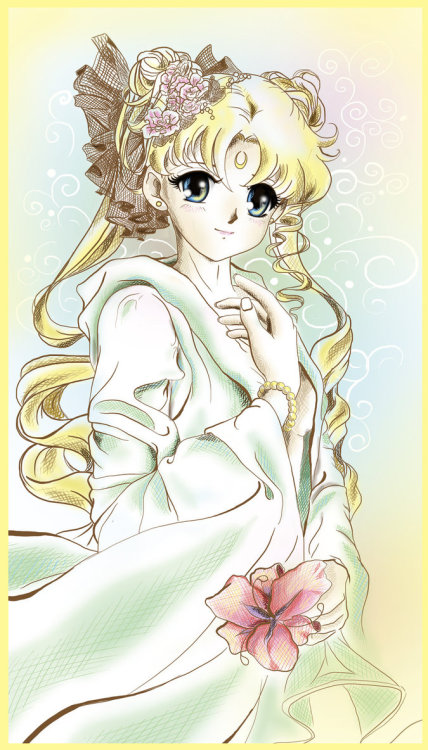 girlsbydaylight:  Sailor Moon_Lunar Flower by *Pillara