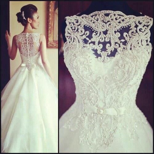 """Wow'm"" gown with such detail"