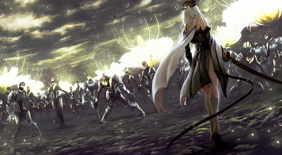gameraddictions:  artwork Drakengard 3