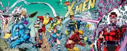 merlin:  X-Men Vol. 2, #1  Can't say why, but after months of near-revulsion, I'm kinda getting into the Jim Lee run.  This is probably a fugue state, right?