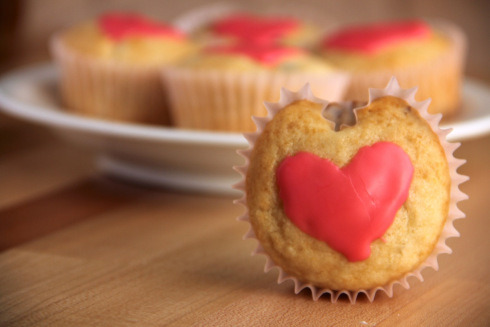 heart-shaped cranberry muffins (diet-friendly) click here for recipe