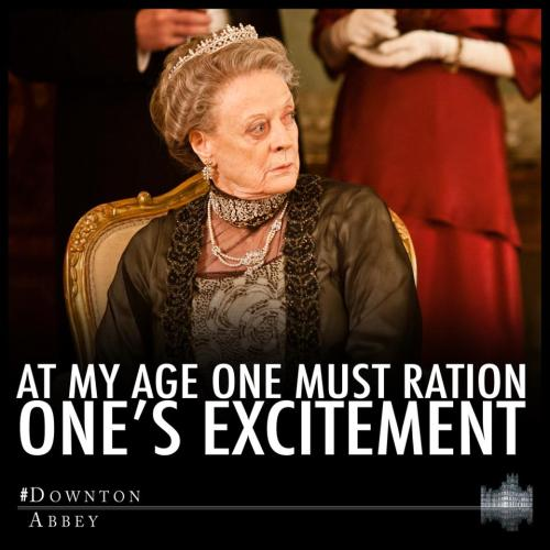 via #DowntonAbbey