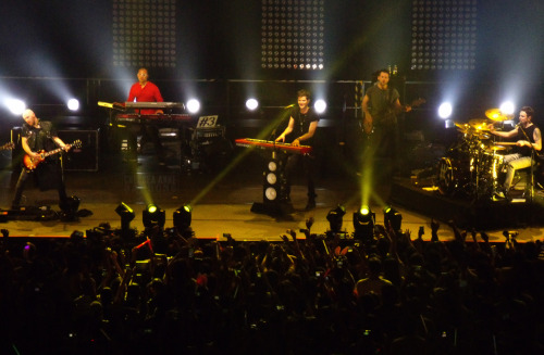 "The Script #3 World Tour Live in Manila (March 31, 2013 @ Araneta Coliseum) One helluva concert experience. Queued for about three hours 'cause I know how gruesome it would be to have a ""nice enough"" seating view on Upper Box B. When the gates were opened, everyone was switched to RUN FOR YOUR LIVES! mode. Haha. The concert started at around 9pm or so. They first sang ""Good Ol' Days"". My favorite among all the songs they played was ""The Man Who Can't be Moved""—of course, who wouldn't love it when Danny lets Manila people sing their ""first legit hit"" with all the damn emotions—next faves would be my personal lovey(s) ""Talk You Down"", ""Breakeven"". The last song they performed was technically, ""Hall of Fame"", they played ""Good Ol' Days"" for the second time to answer the crazy crowd's ""WE WANT MOREEEEEE!!"" request. Damn, t'was really thrilling to see the Dublin boys perform live. Sends shivers. Singing along with the crowd. Feeling the beats and lyrics purely. Woah. Love you, The Script. One of those unforgettable nights. Hellyeah!"