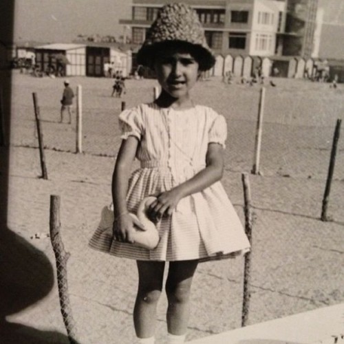 My Mum in the 60's. love you! #nofilter  (presso Lido di Venezia )