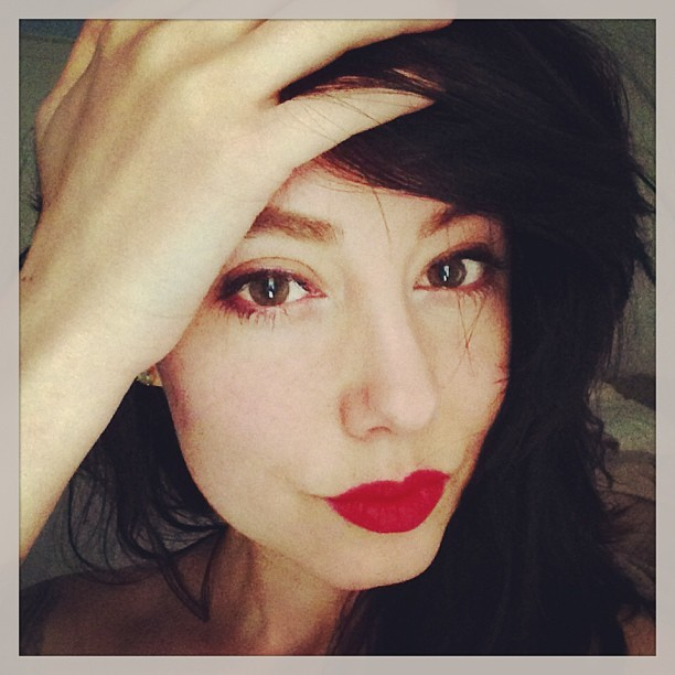 Warning! I now own red lipstick and I'm vaguely aware of how to use it…