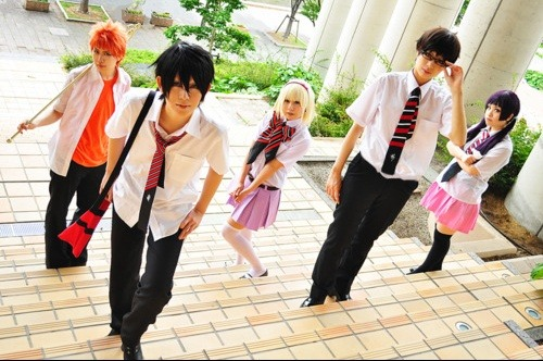 Ao no Exorcist Cosplay