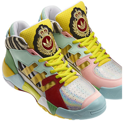 Jeremy Scott's 'Street Ball' shoe by Adidas!!! #2013 FREEZER!
