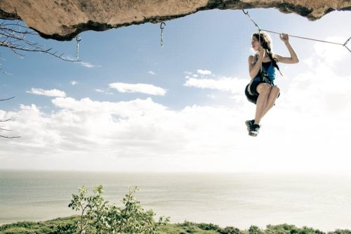 what-a-climber:  Maria Andrea Acosta Photo by Manuel Mosquera, via I love climbing