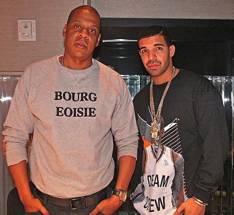 Jay Z x Drake in the studio (New)