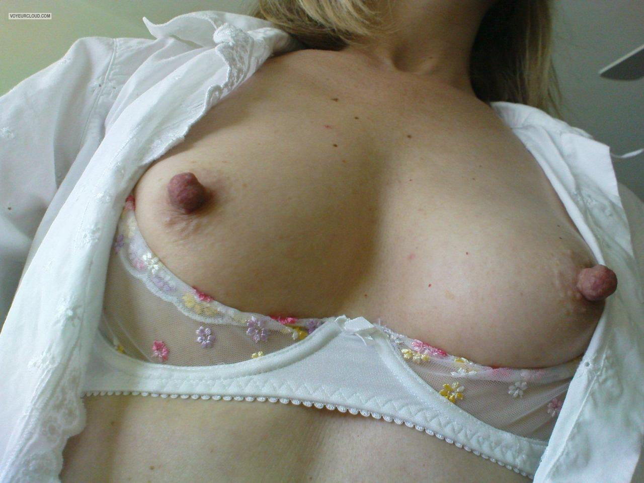 Girls with big tits hard erect nipples
