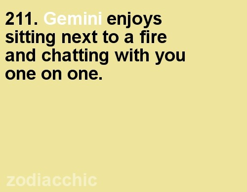 zodiacchic:  ZodiacChic Post:Gemini  natural conversationalists