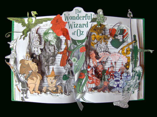 Wizard of Oz Book Sculpture Check out my Etsy Shop: https://www.etsy.com/listing/125860229