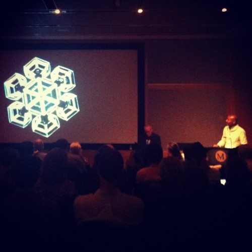 @djspooky talking water, ice & climate art