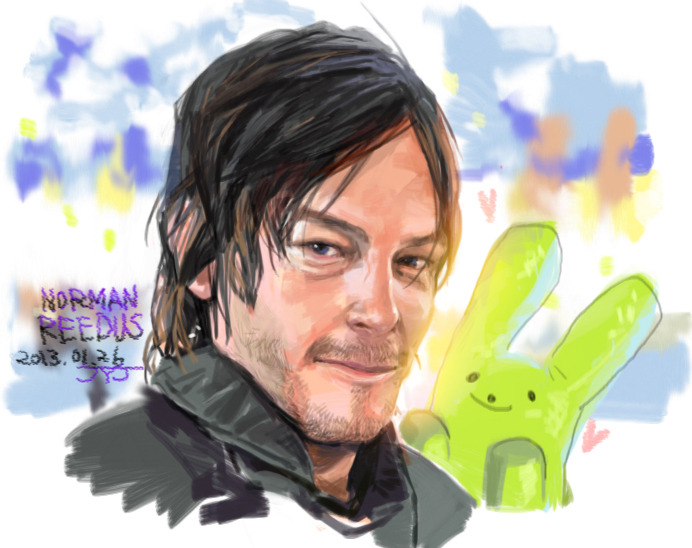 I love so much norman T__T Norman reedus fan art ;ㅅ;