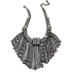 shmanderzstyles:  DANNIJO necklace ❤ liked on Polyvore (see more fringe necklaces)
