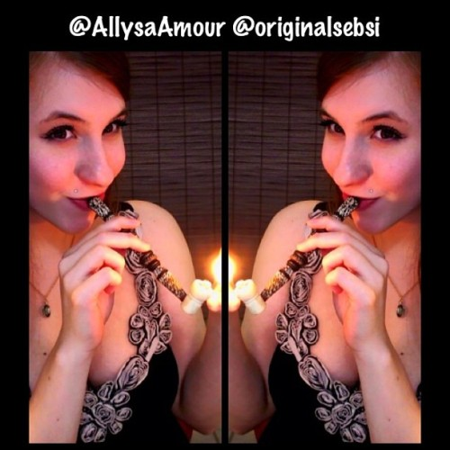 Must follow her @AllysaAmour…