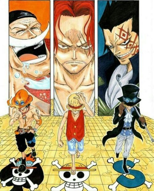 one piece portgas d. ace whitebeard monkey d. luffy shanks sabo monkey d. dragon