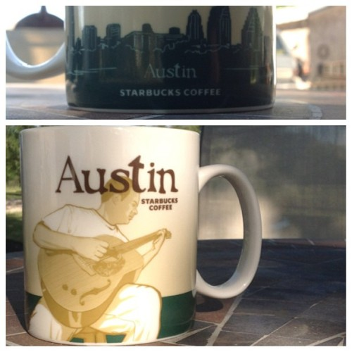 zanekeith:  I also got the old version. #starbucks #citymug #austin #texas #tobeapartner
