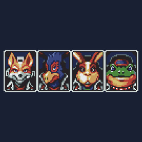 Team Star Fox Made by ubakaonyechi